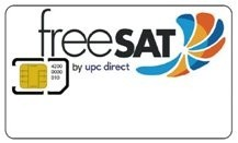 FreeSAT medium HD karta