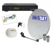 Komplet FreeSat ABCryptobox 700HD